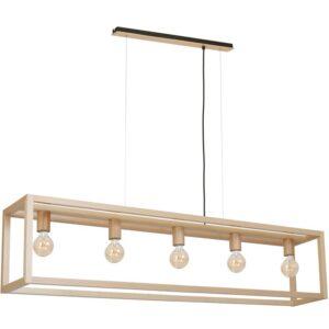 Pakabinamas medinis šviestuvas LEGNO K5
