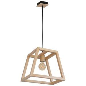 Pakabinamas medinis šviestuvas LEGNO T1