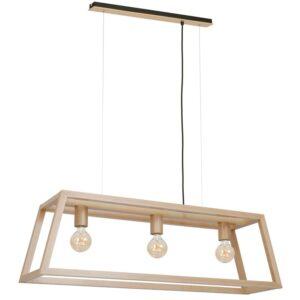 Pakabinamas medinis šviestuvas LEGNO T3