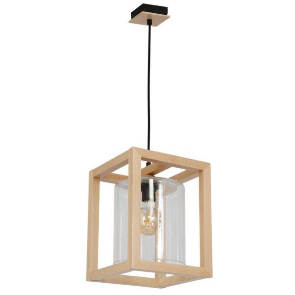 Pakabinamas medinis šviestuvas LEGNO G1
