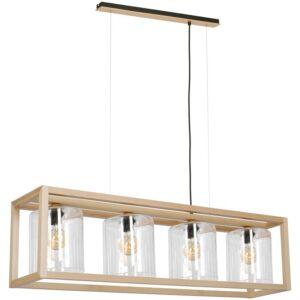 Pakabinamas medinis šviestuvas LEGNO G4