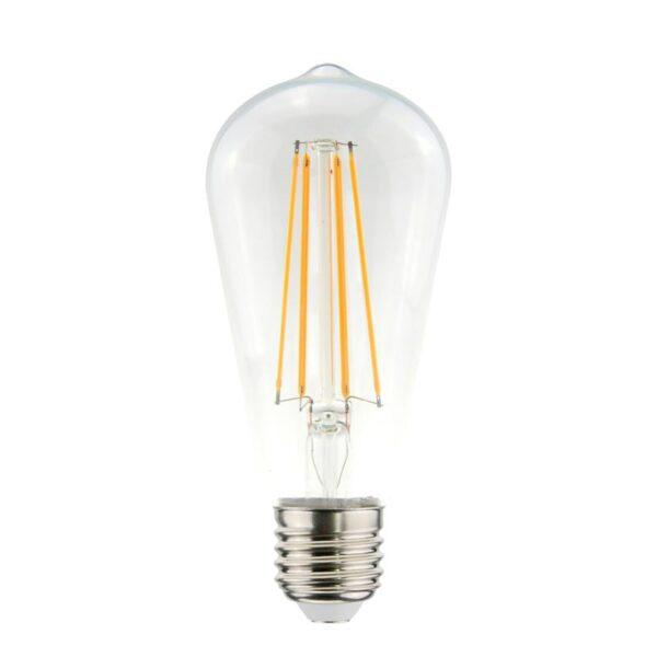 7,5W E27 LED lemputė ST64 CLEAR
