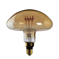 5W E27 LED lemputė Curved Fungo