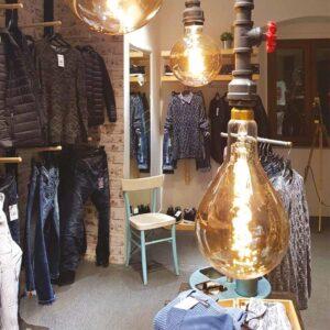 5W E27 LED lemputė Vintage Curved A165 Gold 2