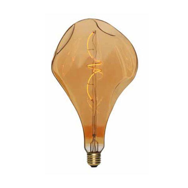 5W E27 LED lemputė Vintage Bumped Gold