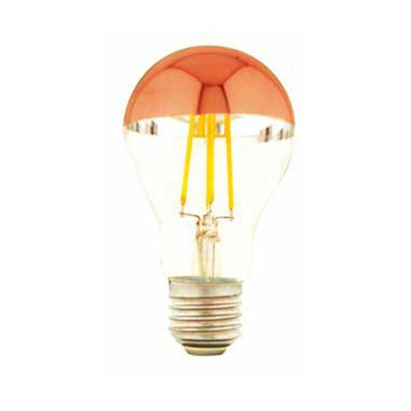 7W E27 LED lemputė A60 CUPOLA RED