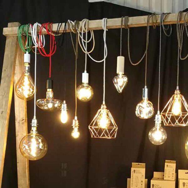 5W E27 LED lemputė Curved Fungo 2