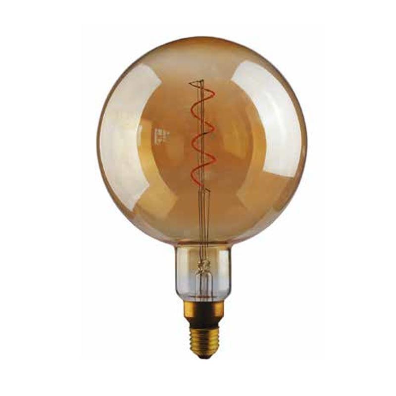 5W E27 LED lemputė Vintage G200 Gold