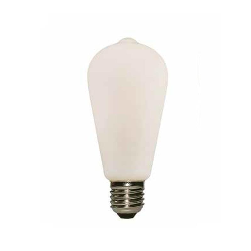6W E27 LED lemputė PORCELLANA ST64