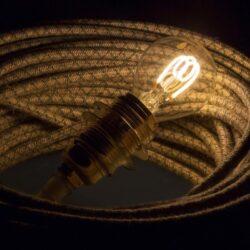 3W E14 LED lemputė CURVED SFERA CLEAR 2