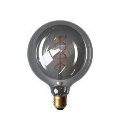 5W E27 LED lemputė Vintage Curved GREY G125
