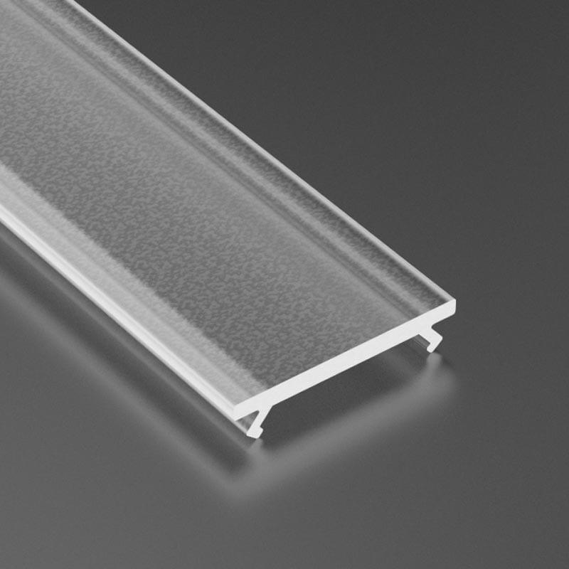 Dangtelis LED profiliui BASIC PMMA