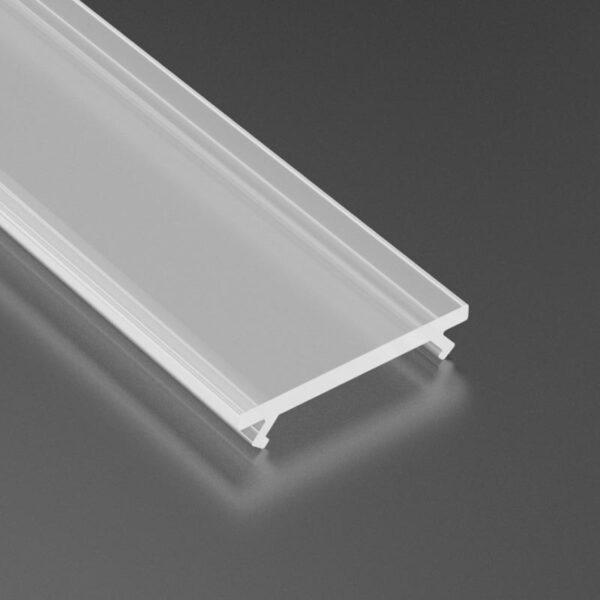 Dangtelis LED profiliui BASIC PVC