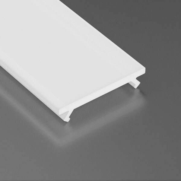 Dangtelis LED profiliui BASIC PVC 2