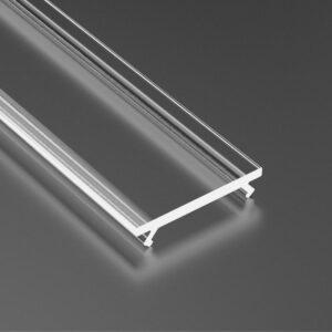 Dangtelis LED profiliui BASIC PVC 3