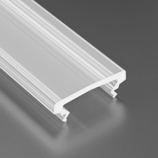 Dangtelis LED profiliui HIGH PVC