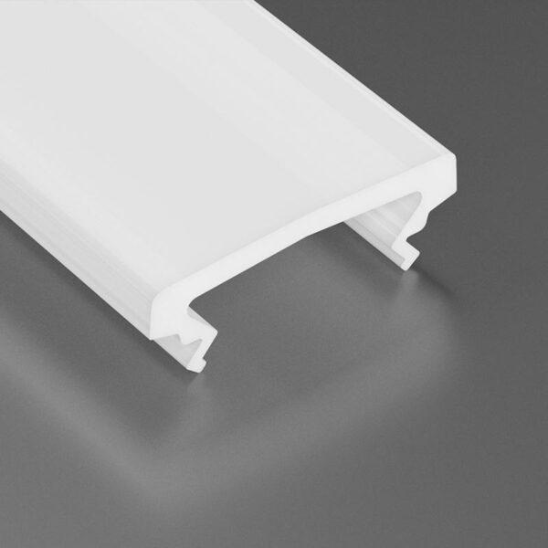Dangtelis LED profiliui HIGH PVC 2
