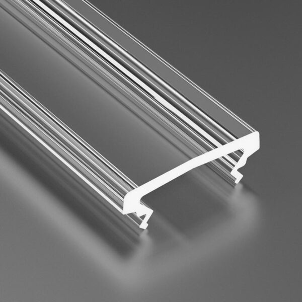 Dangtelis LED profiliui HIGH PVC 3