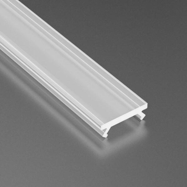 Dangtelis LED profiliui SLIM PVC