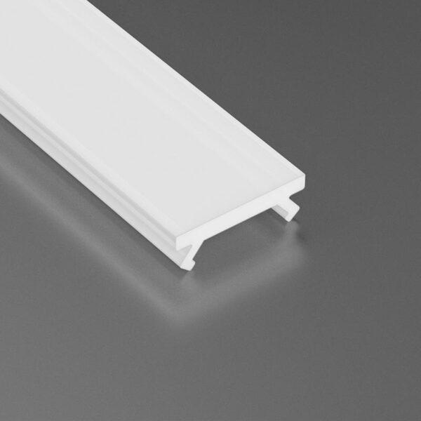 Dangtelis LED profiliui SLIM PVC 2