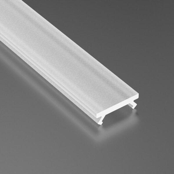 Dangtelis LED profiliui SLIM PMMA 5
