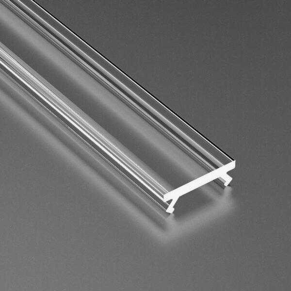 Dangtelis LED profiliui SLIM PVC 3