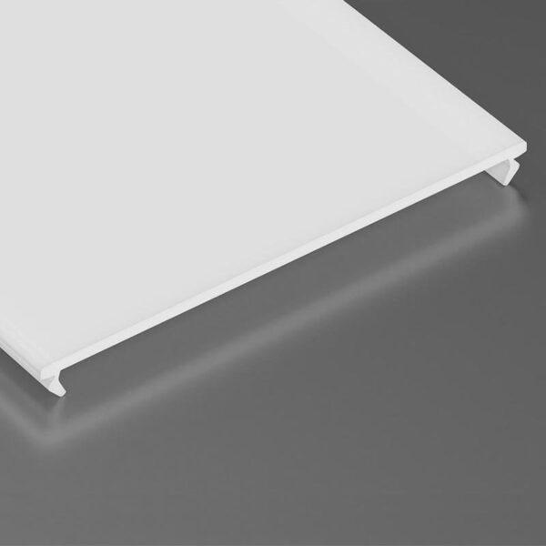 Dangtelis LED profiliui SUPERWIDE PMMA 3