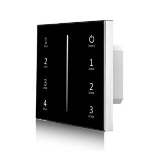 4 zonų sensorinis LED valdiklis T11-1B