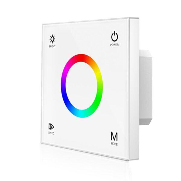 Sieninis sensorinis RGB LED valdiklis T3