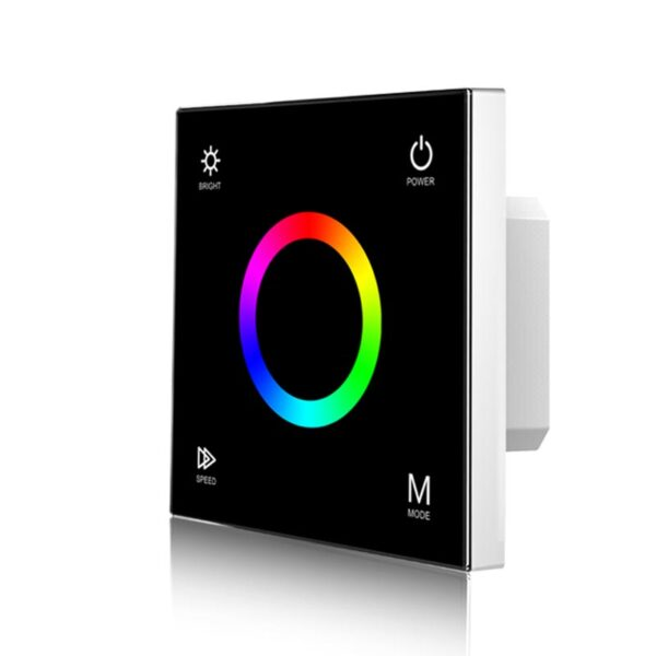 Sieninis sensorinis RGB LED valdiklis T3B