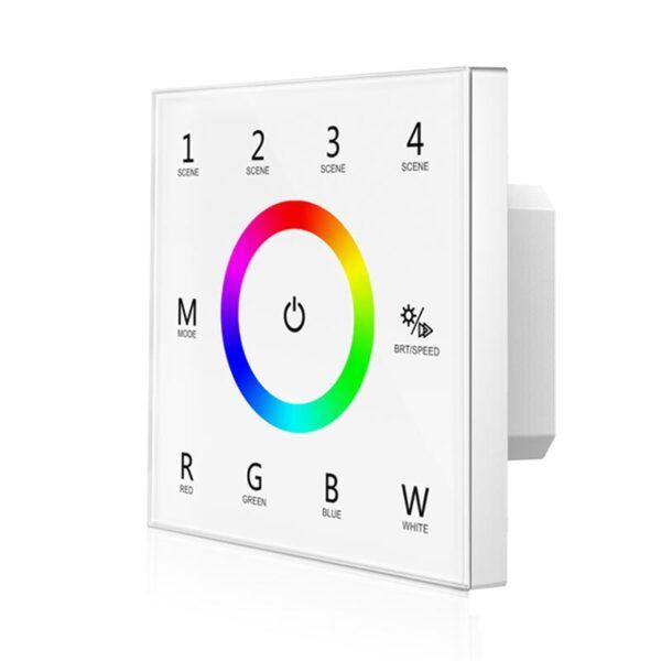 Sieninis sensorinis RGBW LED valdiklis T4