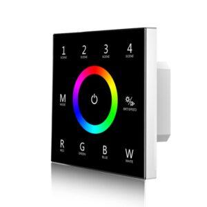 Sieninis sensorinis RGBW LED valdiklis T4B