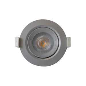 6,5W įmontuojamas LED šviestuvas Nahe Niquel