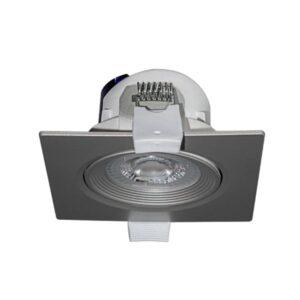 6,5W įmontuojamas LED šviestuvas NAHE SQ NIQUEL