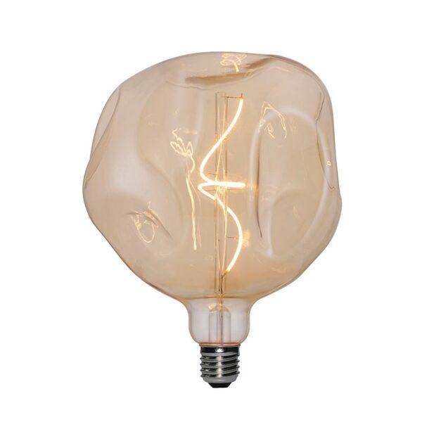 5W E27 LED lemputė Bumped Gold G180