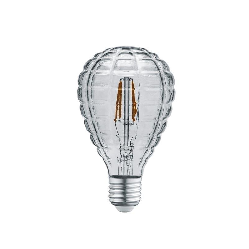4W E27 LED Lemputė Luster Grey