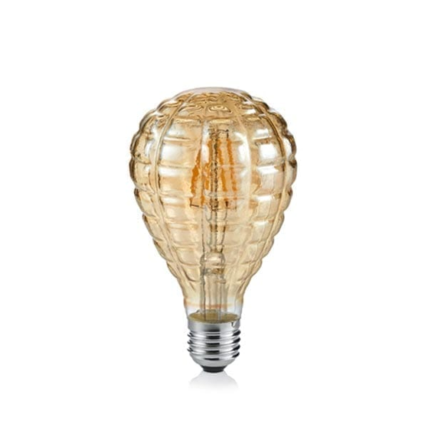 4W E27 LED Lemputė Luster Amber