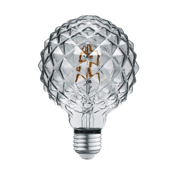 4W E27 LED Lemputė Globo Grey