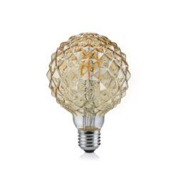 4W E27 LED Lemputė Globo Amber