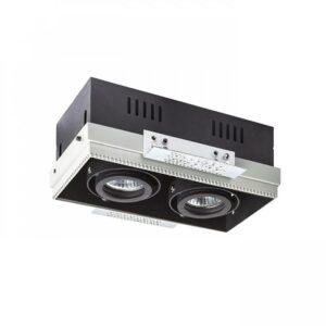 Užglaistomas šviestuvas ELECTRA 2xGU10 2