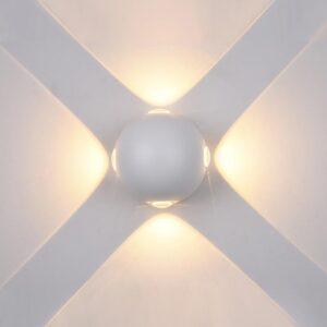Sieninis lauko LED šviestuvas Carsoli