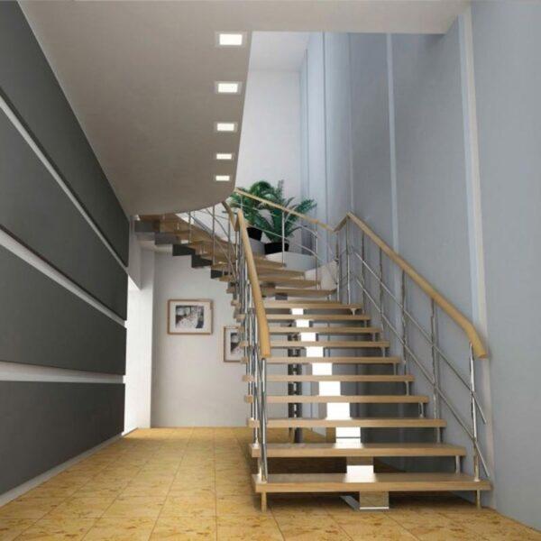 6W LED panelė Algine SQ 3