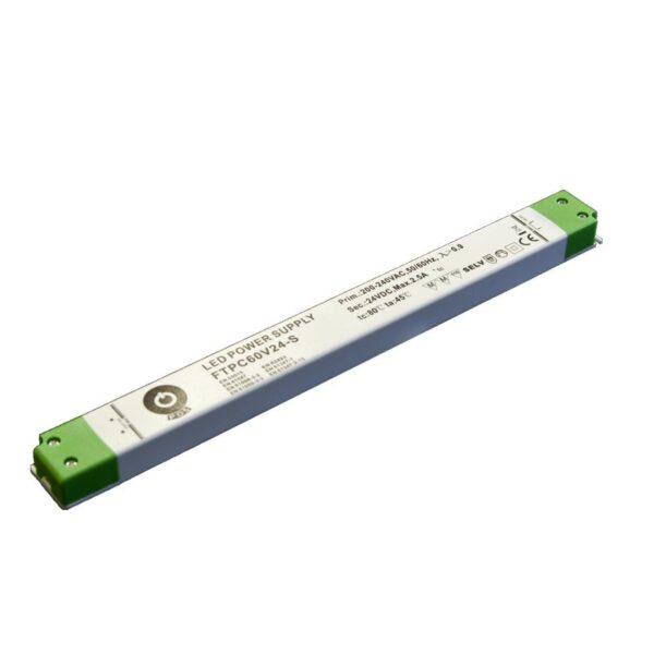 60W LED maitinimo šaltinis SLIM