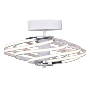 Lubinis LED šviestuvas TILIA baltas