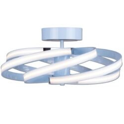 Lubinis LED šviestuvas ZOYA mėlynas