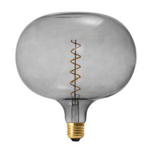 Vintažinė LED lemputė Coriandoli Cobble Grey