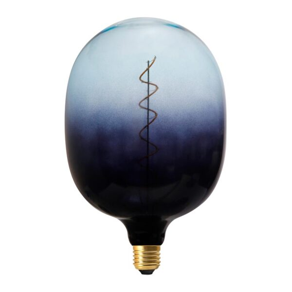Vintažinė LED lemputė Coriandoli Deep Blue Egg