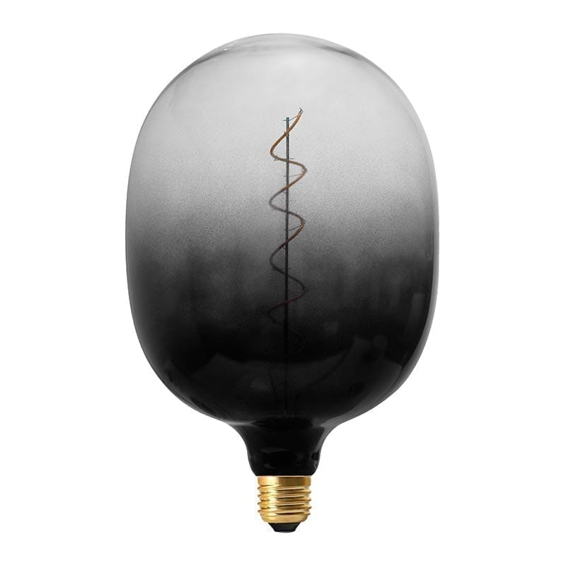 Vintažinė LED lemputė Coriandoli Deep Black Egg