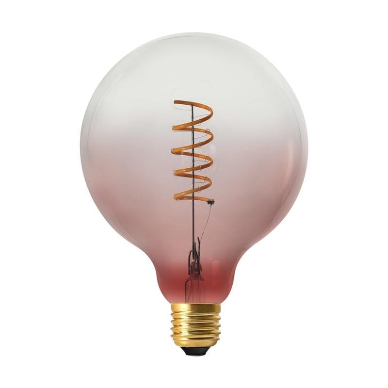 Vintažinė LED lemputė Coriandoli Pink G125