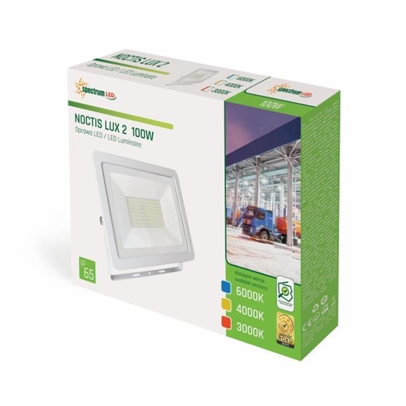 100W LED prožektorius NOCTI baltas 2